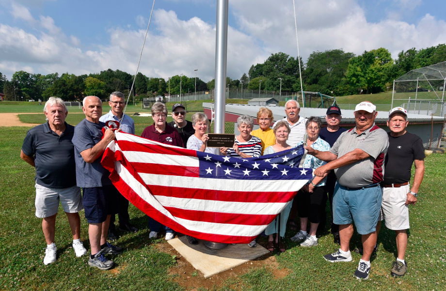 Thank you to the members of the State High Class of 1960 for donating a flag and pole to the district.